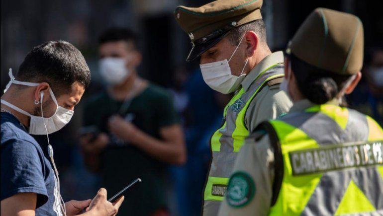 Chile: hubo 2500 presos en fiestas clandestinas