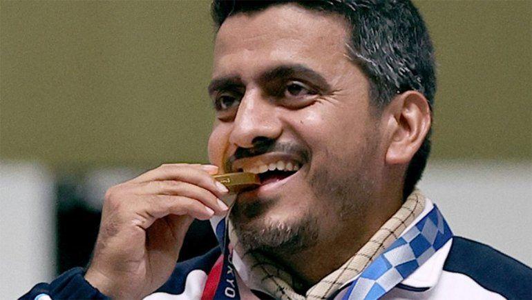 Acusan de terrorista a un campeón olímpico de tiro y piden que lo quiten la medalla
