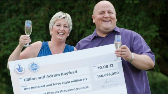 La historia de un matrimonio tras ganar US$191 millones en la lotería