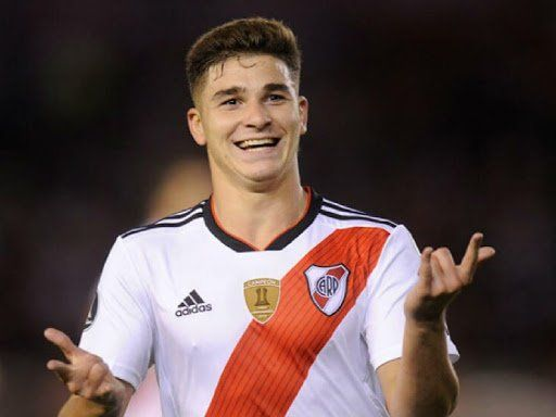 Julián Álvarez: superhéroe de River contra LDU Quito