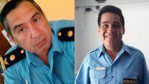dolor por la muerte de dos jovenes policias por covid