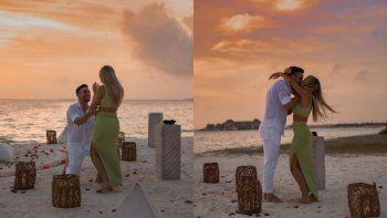 campeon y al altar: la romantica propuesta de casamiento de tagliafico a su novia