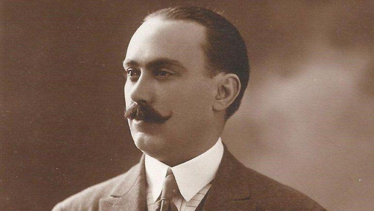 Ángel Pérez Novella de joven.
