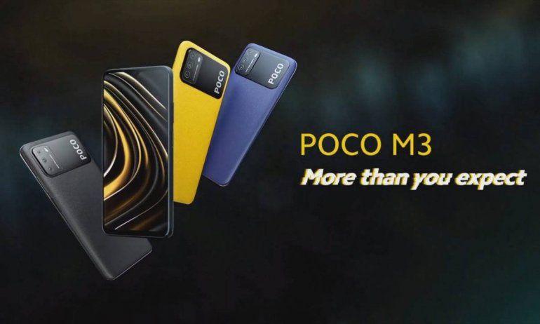 El Xiaomi Poco M3 ha dejado impresionado a los expertos por su alto desempeño