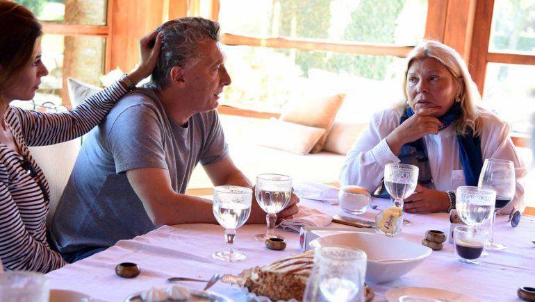 Enojada, Lilita Carrió dijo que Mauricio Macri ya fue