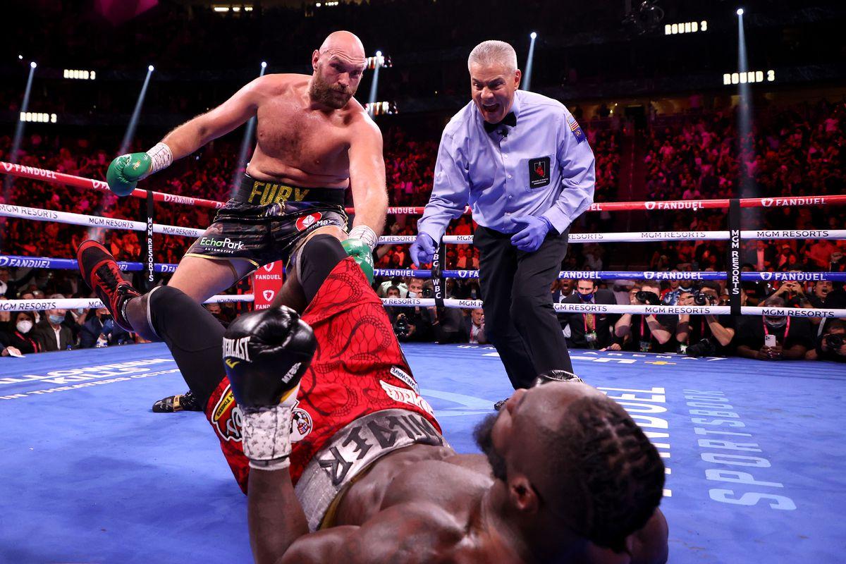 El KO de Tyson Fury.