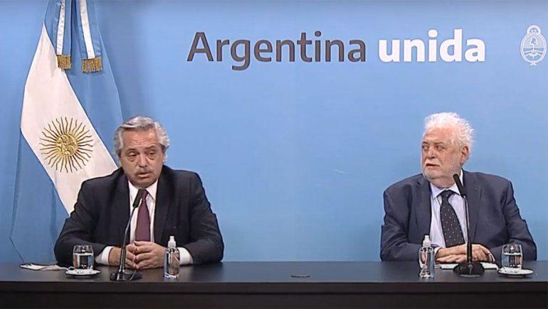 Alberto Fernández le pidió la renuncia al ministro de Salud