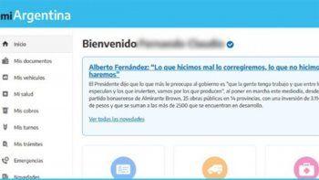 el gobierno hace campana en una app oficial y se disparo la polemica