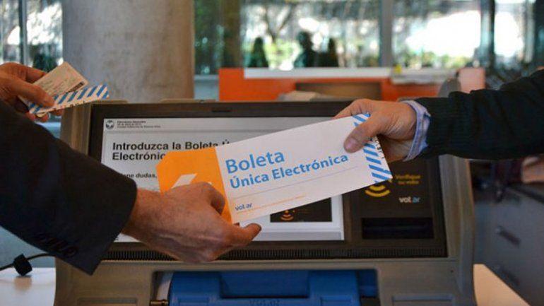 La Boleta Única Electrónica, uno de los cambios que se harán en las próximas elecciones.