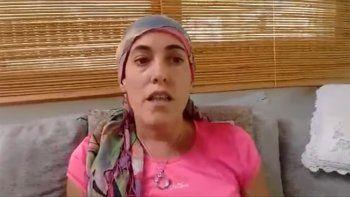 paciente oncologica reclama remedios: mi enfermedad no sabe de tiempos