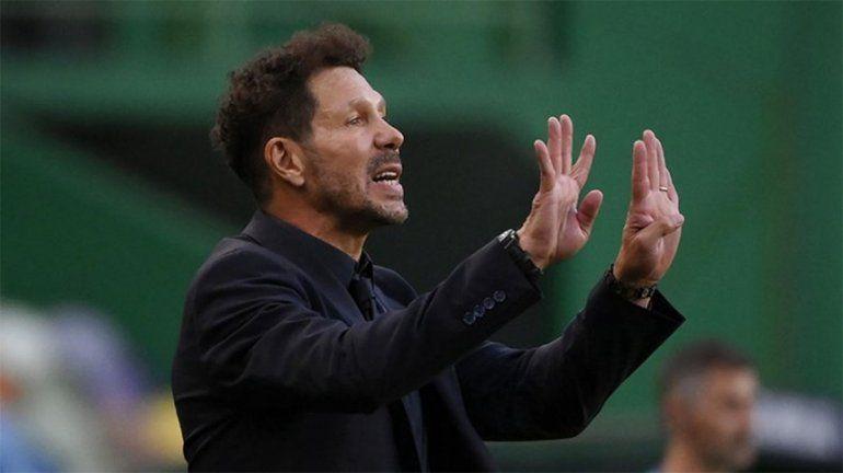 Simeone: No hay excusas, no teníamos más y nos tocó perder