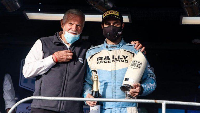 Juan Marchetto esquivó la muerte, le ganó al cáncer y ganó en su regreso al rally tras diez al inactivo