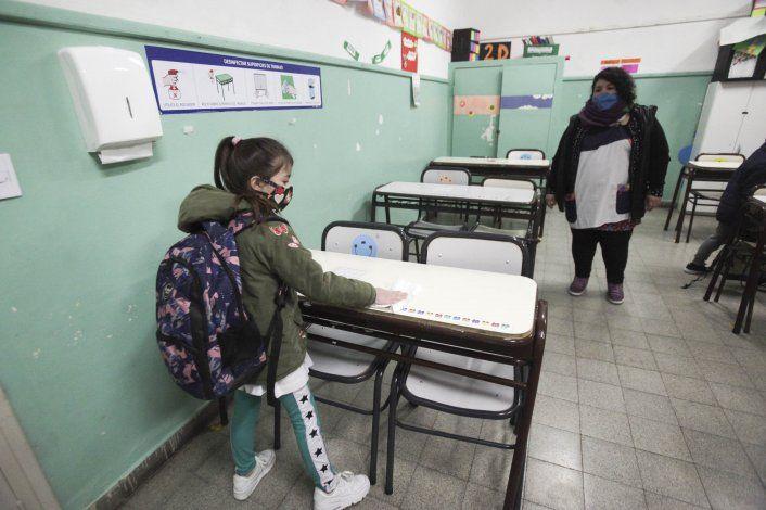 En imágenes: así fue el comienzo de clases presenciales en Neuquén