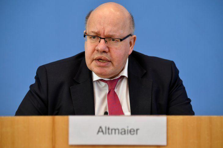 Imagen de archivo del ministro de Economía de Alemania