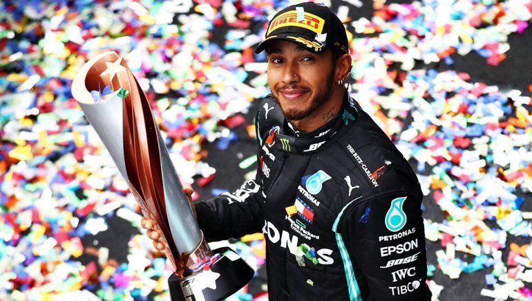 Lewis Hamilton será nombrado Sir por la Corona Británica