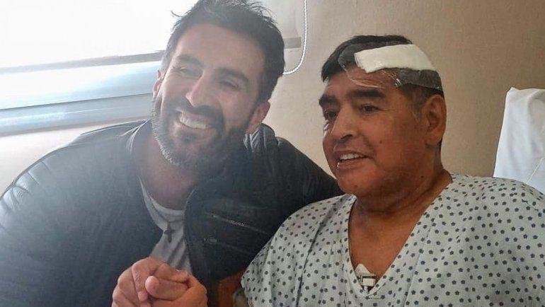 Pelea, gritos y empujones: Maradona echó a su médico días antes de su muerte