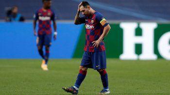 Messi: su falta de goles preocupa al Barcelona