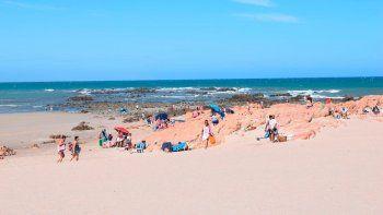 Piedras Coloradas, la playa donde los chicos compartían una fiesta. La foto es de archivo