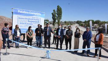 Gaido inauguró 126 cuadras de asfalto y anunció 500 más