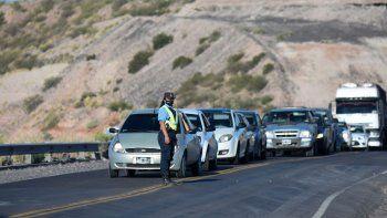 precaucion en la ruta 7 por trabajos en los rulos