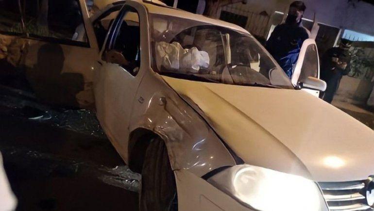 El prófugo Godoy chocó en Valentina Sur pero logró huir una vez más
