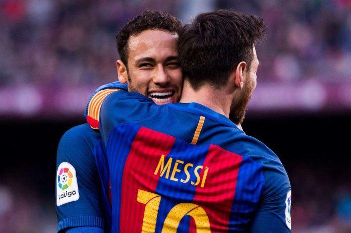 Messi y Neymar fueron compañeros en el Barcelona.