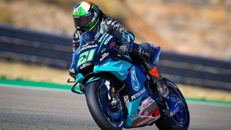 Franco Morbidelli ganó el GP de Teruel de Moto GP en Aragón.