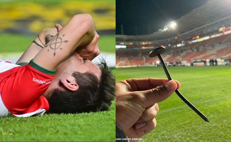 Tremenda lesión y lágrimas de dolor de futbolista en México