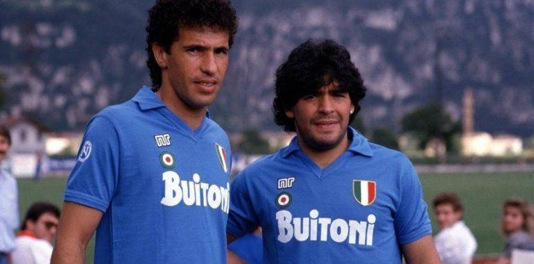 Maradona y Careca los unió una gran amistad