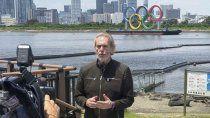 Gonzalo Bonadeo la cara de los Juegos Olímpicos en las transmisiones de TyC Sports.