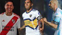 Boca-Inter, Racing-Flamengo y River-Paranaense.