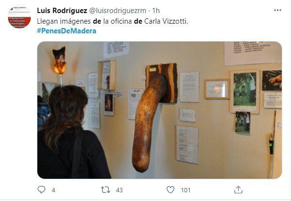 Penes de madera: las redes se llenaron de memes por la compra del Gobierno