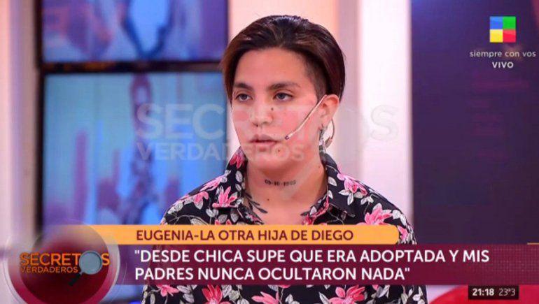La supuesta hija Diego: La pareja de mi mamá le pegaba en la panza