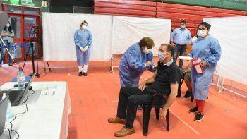 Gutiérrez recibió el segundo componente de la vacuna