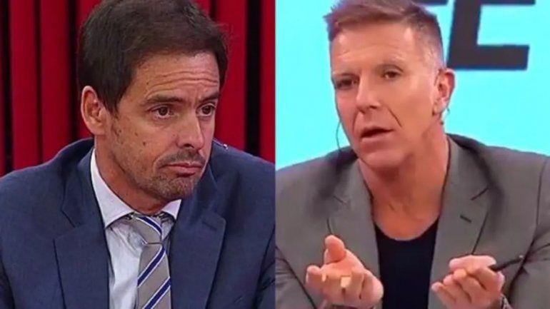 Fantino y Closs, indignados por el baile de Villa: ¿el colombiano les respondió?