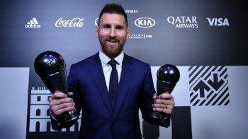 Messi entre los nominados al The Best