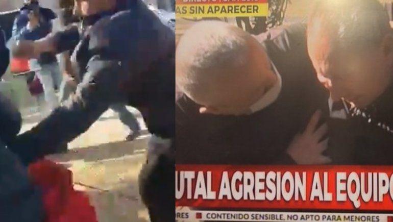 Brutal ataque a un móvil de Crónica mientras cubría el caso Guadalupe