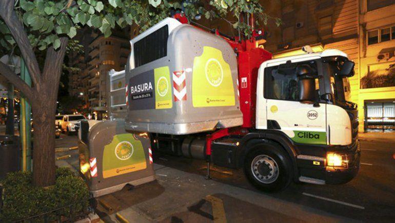 CABA: habrá caos si baja recolección de los residuos