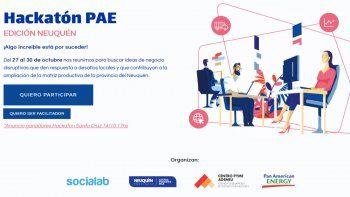 pae realiza una hackaton virtual en la provincia del neuquen
