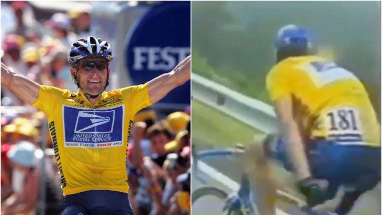 ¿Lance Armstrong utilizaba un motor en su bicicleta?