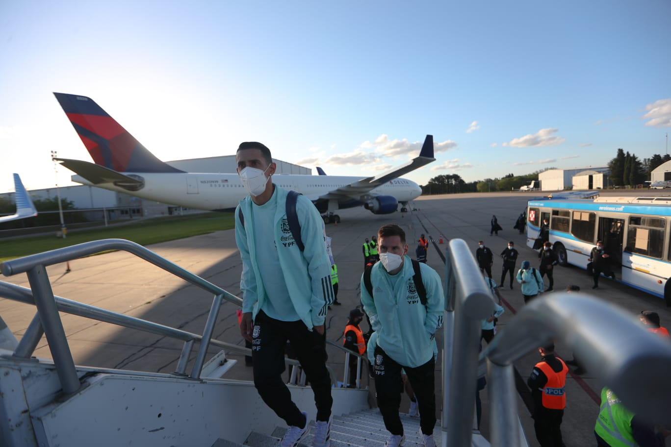 Argentina rumbo a Paraguay.