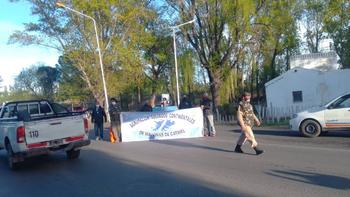 Ruta 22: Veteranos realizan cortes intermitentes en los puentes carreteros