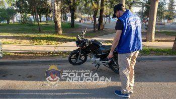 cayeron por vender en facebook una moto robada a bajo precio