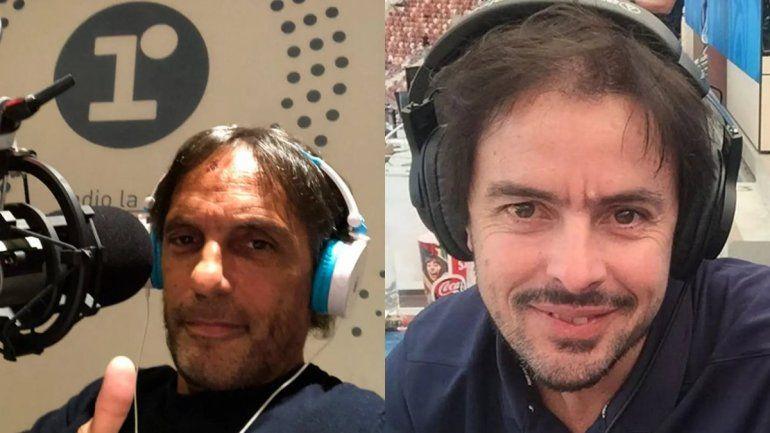 Gustavo López y Mariano Closs
