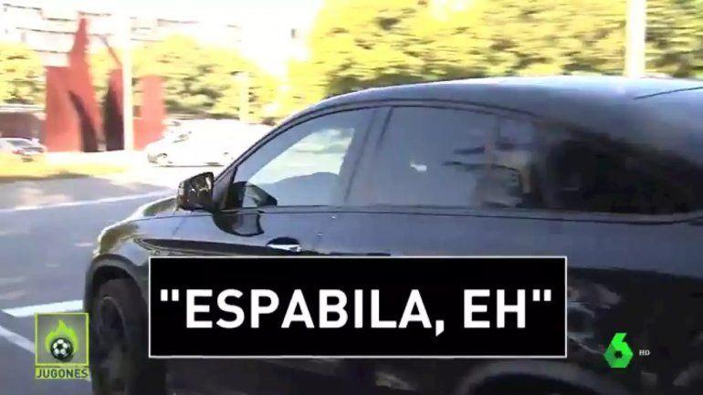Messi fue increpado por un hincha del Barcelona: mirá su reacción en caliente