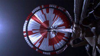 descubren un mensaje oculto en el paracaidas de perseverance