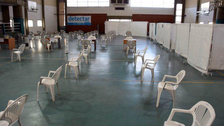 Piden que retiren el tráiler Detectar del gimnasio del colegio San Martín
