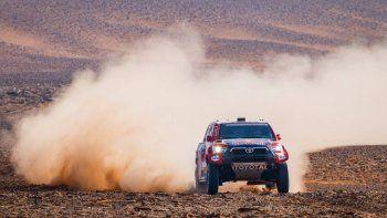 Al- Attiyah consiguió el triunfo en la octava etapa del Dakar 2021.