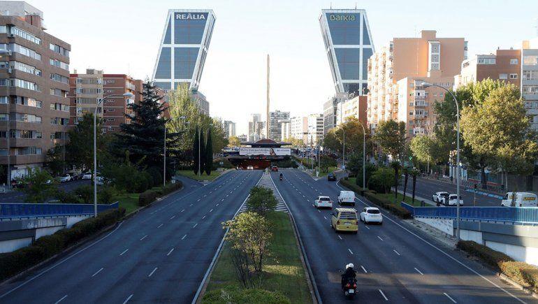 En Madrid rige el estado de alarma