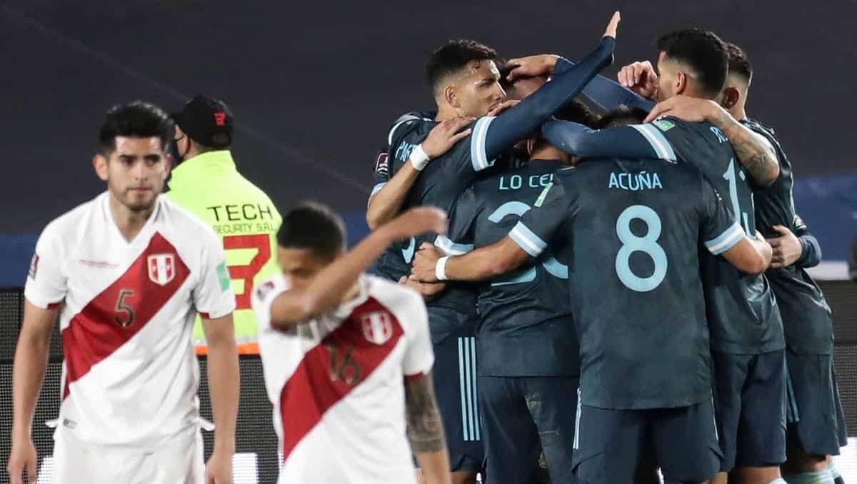 asi quedaron las eliminatorias tras el triunfo de argentina